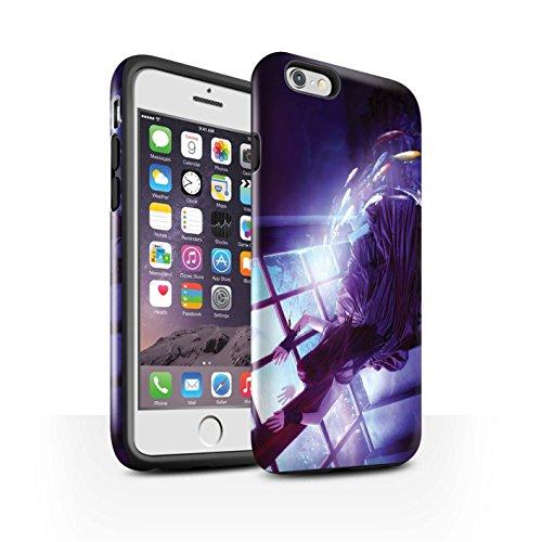 Officiel Elena Dudina Coque / Brillant Robuste Antichoc Etui pour Apple iPhone 6 / Laisse Moi Entrer Design / Agua de Vida Collection Laisse Moi Entrer