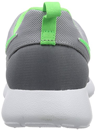 Nike Roshe One (GS), Sneakers basses garçon Multicolore - Mehrfarbig (Cool Grey/Green Strike-Wolf Grey-White)