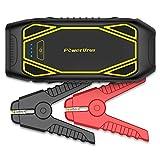 PowerUrus IP66 Auto Starthilfe 1600A Spitzenstrom (Benzinmotoren bis zu 10L & Dieselmotoren bis zu 6.5L) Quick Charge 3.0 Powerbank Jump Starter 120W 12V DC Akku Power Pack