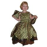 Seruna Bienen-Kostüm, AN27 Gr. 5-6 Jahre, für Klein-Kinder, Babies, Bienen-Kostüme Biene Kinder-Kostüme Fasching Karneval, Kleinkinder-Karnevalskostüme, Kinder-Faschingskostüme, Geburtstags-Geschenk
