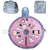 Kit organizador de maquillaje portátil e impermeable,bolso de cosméticos grande,neceser para cuarto de baño, bolso para cepillo con cremallera, bolso de viaje,bolso de mano