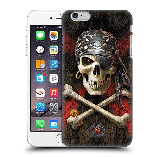 Ufficiale Anne Stokes Pirata Teschio Cover Retro Rigida per Apple iPhone 6 / 6s Pirata