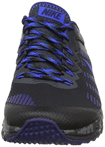 Nike Men 819146-004 Trail Runnins Sneakers Nero (nero / Blu Cobalto / Grigio Antracite / Blu Leale)
