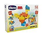 Chicco 0000681100000030(S)–Building Sets, jedes Geschlecht - Dinosaurier, mehrfarbig