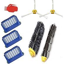 Techypro® Reposición Pack Cepillos Kit para iRobot Roomba aspiradora serie 600-incluyen un conjunto de 8
