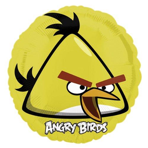 PARTY DISCOUNT NEU Folienballon Angry Birds Yellow Bird, -