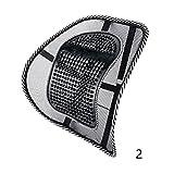 laixing 13745# Bürostuhl Sitz Comfort Mesh unteren Rücken Haltung Lendenwirbelstütze, 2, Einheitsgröße