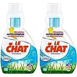 Le Chat Souffle de Fraicheur Lessive Liquide Concentrée avec Auto Doseur 0,85 L Lot de 2