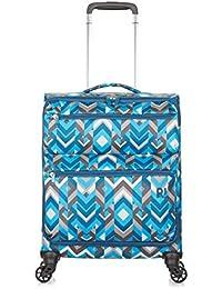 REVELATION Weightless D3J - 4 Wheel 55cm Cabin Pattern Blue 1.5kg Maleta, 56 cm, 34 liters, Azul (Pattern Red)
