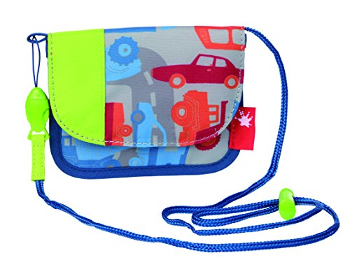 Sigikid, Jungen, Brustbeutel Fahrzeuge, Traffic, 12 cm, Blau, 24673