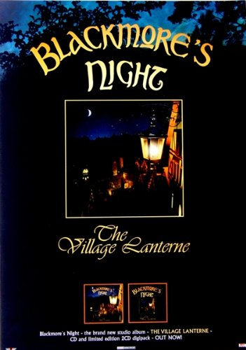 blackmore-s-night-2006-promo-pster-deep-purple-village-lanterne
