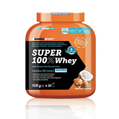 NAMED SUPER 100% WHEY 908 GR Cioccolato