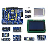 Venel Electronic Component, OpenM128 Package B, AVR Development Board, Designed for Atmel Mega AVR, Features The Atmega128 MCU, Integrates Various Standard Interfaces, Easy for Peripheral Expansions