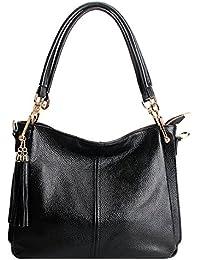 4637f20af15f6 E-girl LF-1818 Damen Leder Handtaschen Elegantes Design Schultertaschen  Umhängetaschen