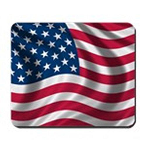 CafePress–USFlag–rutschfeste Gummi Mauspad, Gaming Maus Pad