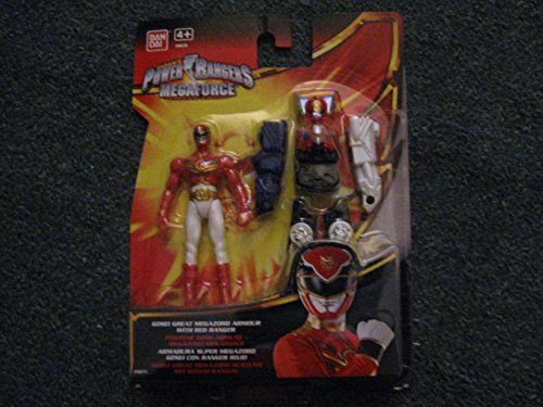 Power Rangers - Megaforce - Gosei Great Megazord Armour with Red Ranger...