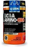 USN BCAA Amino Gro Supplement, Fruit Fusion - 300 g