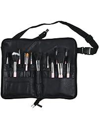 BestFire Professional Makeup Brush Bag Case Portable 22 Pockets Cosmetic Holder Organizer With Artist Belt Strap...