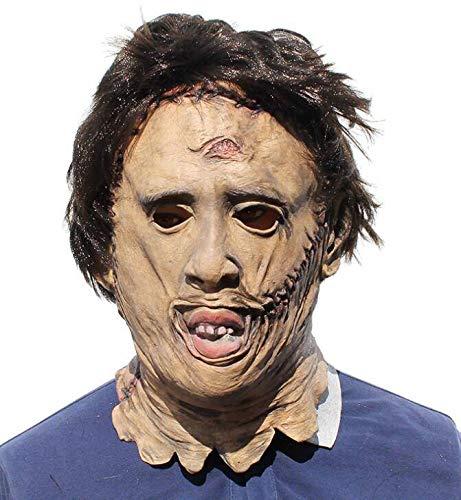 HANJIANJIN Halloween - Maske Requisiten Rolle Spielen Party BAR Requisiten Geburtstag Kopfbedeckungen Latex - Masken (Outdoor-halloween-party-spiele Erwachsene Für)
