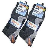 6 Paar Herren Thermo Socken Vollfrottee-39-42 - 3