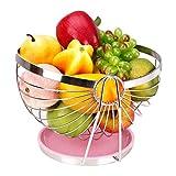 Oddity Cesto portafrutta da Frutta in Acciaio Inox 304 Cestino portafrutta da Frutta in Acciaio Inox