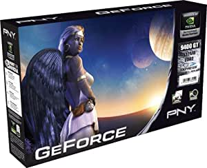 PNY nVidia GeForce 9400 GT Grafikkarte (PCI-e, 512MB GDDR2 Speicher, DVI-I / TV-Out, 1 GPU)
