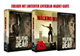 The Walking Dead - Staffel 3 (Uncut Jumbo Steelbook Edition + Lenticularkarte) [Blu-ray]