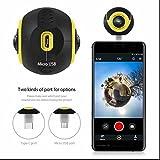 720°Panorama-Kamera 360°Handy Panoramakamera Fisheye VR Kamera 3D kamera,geringer Stromverbrauch,kompakte moderne Blick,Top Qualität für Android Samsung/LG/HTC/Huawei