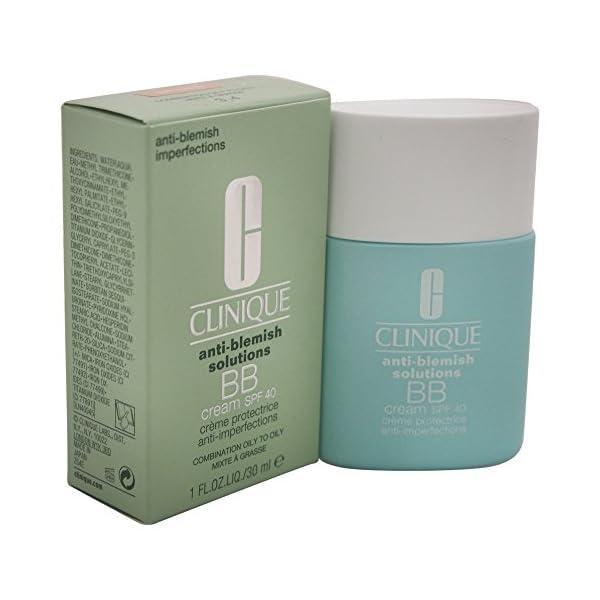 Clinique Anti Blemish Solutions Crema BB Antimanchas SPF40, Tono 02 Light Medium – 30 ml