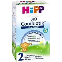 Hipp Orgánico Combiotik 2 leche episodio sin poder - a partir de 6 meses, 600 g