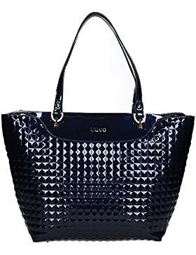 Borsa shopping Liu Jo m ciclamino blu