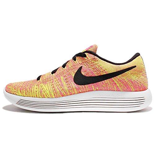 Nike Wmns Lunarepic Low Flyknit Oc, Scarpe da Corsa Bambina Nero (multicolore)
