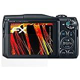 atFoliX Folie für Canon PowerShot SX710 HS Displayschutzfolie - 3 x FX-Antireflex-HD hochauflösende entspiegelnde Schutzfolie