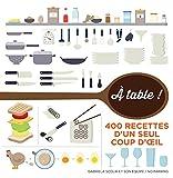 À table !: 400 recettes en infographie...