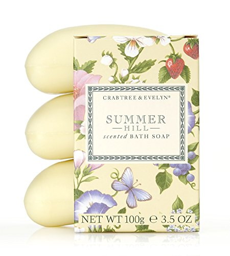 Crabtree & Evelyn Summer Hill Gift Set - 3x100g Soap