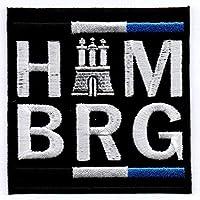 Hamburg Aufnäher Bügelbild Abzeichen Iron on Patch