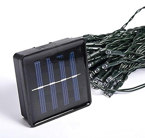 LED Solar String Weihnachtsbeleuchtung Weihnachtsschmuck für Indoor und (Laterne Weihnachtsschmuck)