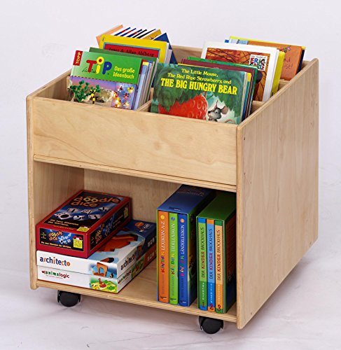 Flexeo Kinder Bücherbox | Bücherregal Kinder