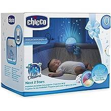 Chicco Next2Stars Projektor für Next2Me Kinderbett, blau, Passform passend für alle Reisebetten