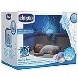 Chicco–Bleu next2stars Projecteur Lit de voyage portable Fit next2me Berceau compatible avec tous les Lit de voyage/et/berceau/Livraison Rapide