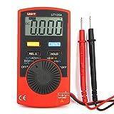 UNI-T UT120A Portátil Multímetros Digitales 4000 Pantalla de Conteo Automático Rango Continuidad Zumbador DC Medidores de Voltaje Probadores