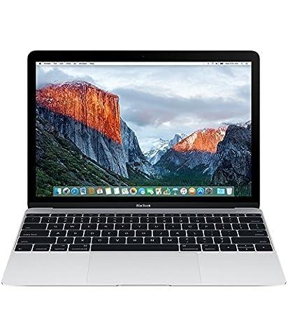 Apple MLHC2FN/A MacBook 12'' 2016 Argenté (Intel Core m5, 8 Go de RAM, 512 Go, Intel HD Graphics 515, Mac OS X)