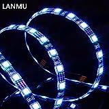 LANMU TV Backlight, Bias Beleuchtung, Monitorbeleuchtung, USB LED Backlight für TV (30 Zoll bis 65 Zoll TV), Desktop Monitore (reduzieren Eye Fatigue und erstaunlichen visuellen Effekt)