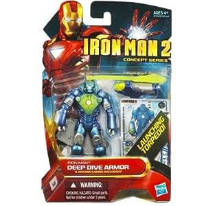 """Deep Dive Armour - Iron Man 2 - 3.75"""" Action Figure - Hasbro"""