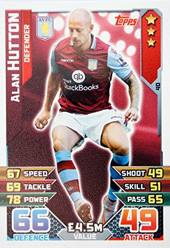 MATCH ATTAX 2015/2016 > ASTON VILLA ALAN HUTTON > Number 40