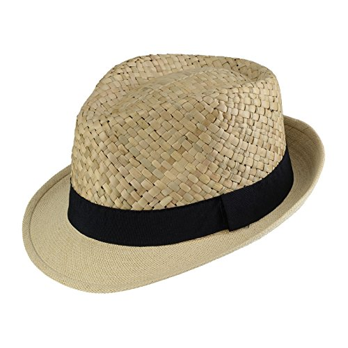 Dandytouch Trilby paille Carvajal