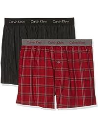 Calvin Klein Herren Boxershorts 2p Slim Fit Boxer
