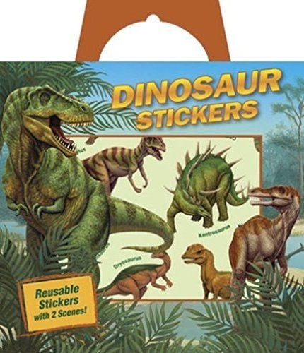 Peaceable Kingdom Dinosaur Reusable Sticker Tote