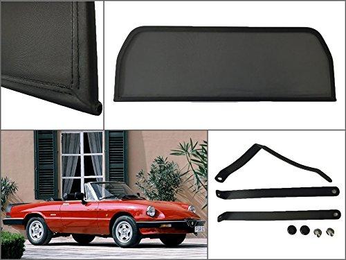 filet-anti-remous-coupe-de-vent-alfa-romeo-spider-cabrio-typ-115-1970-1993-deflecteur-de-vent