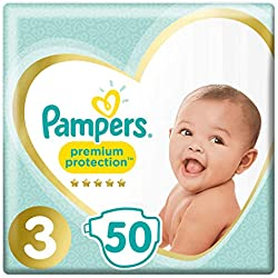Pampers Couches New Baby Taille 3 Midi (6-10 Kg) Géant X50 Changes - lot de 2
